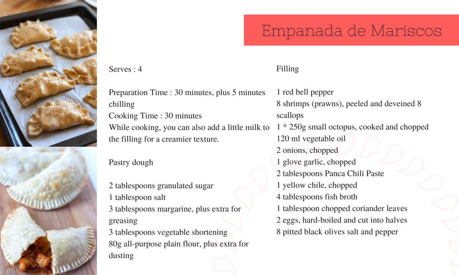 Empanada de Mariscos Recipe